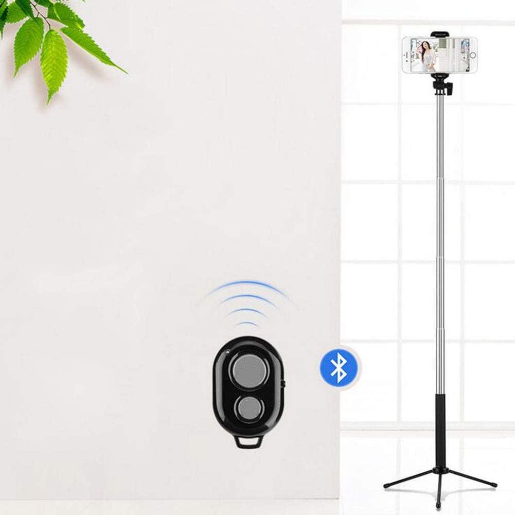 Folding Bluetooth Selfie Stick Monopod Extendable,Pink LSYOA Mini Selfie Stick Tripod Stand