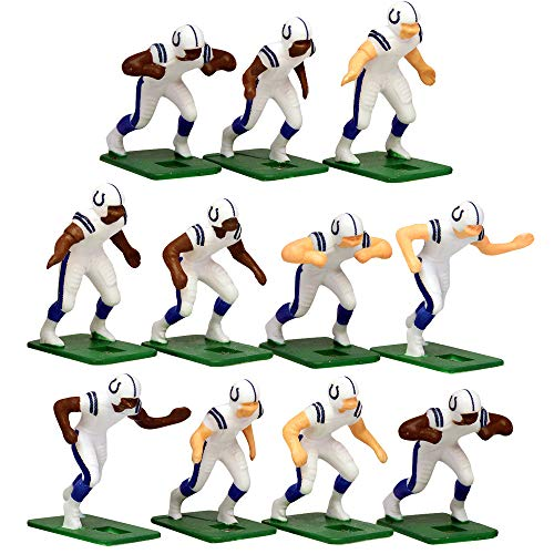 - Indianapolis Colts Away Jersey NFL Action Figure Set