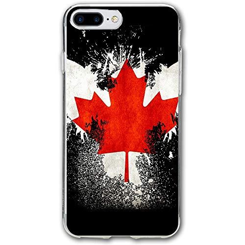 Canadian Flag Eagle Resistant Cover Case Compatible iPhone 7 Plus iPhone 6 Plus 5.5IN]()