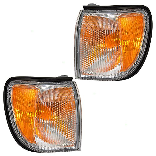 Driver and Passenger Park Signal Corner Marker Lights Lamps Replacement for Nissan SUV 261292W600 261242W600 AutoAndArt