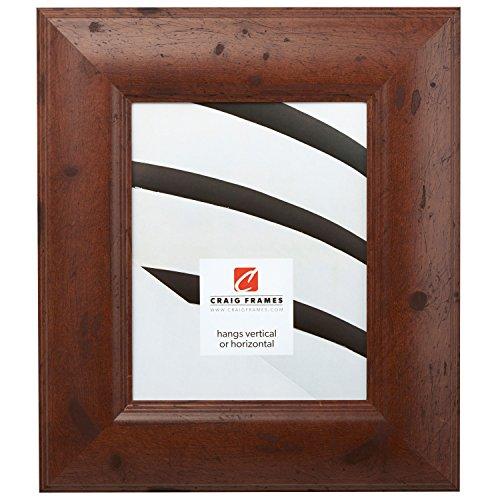 Craig Frames 80004 18 by 24-Inch Picture Frame, Smooth Wrap Finish, 3-Inch Wide, Dark Walnut Brown