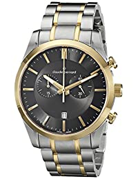 Claude Bernard Men's 10104 357J GID2 Classic Chronograph Analog Display Swiss Quartz Two Tone Watch