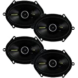 4) New Kicker 40CS684 6x8 450W 2 Way Car Coaxial Speakers Stereo Audio CS684