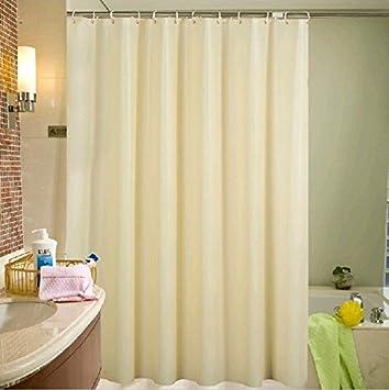 Amazon.com: Uforme 36 Inch By 72 Inch Shower Curtain Mildew ...