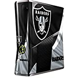 Skinit NFL Oakland Raiders Xbox 360 Slim (2010) Skin - Oakland Raiders Design - Ultra Thin, Lightweight Vinyl Decal Protection