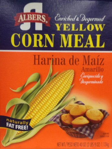 - Albers Yellow Corn Meal, 40-Ounce Boxes (Pack of 2)