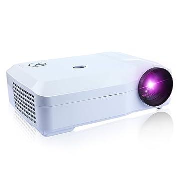 DBPOWER 1080 P LED proyector Home Cinema, menos de 25 db ...
