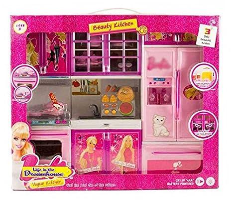 Buy Samdivi Barbie Kitchen Set Online At Low Prices In India Amazon In