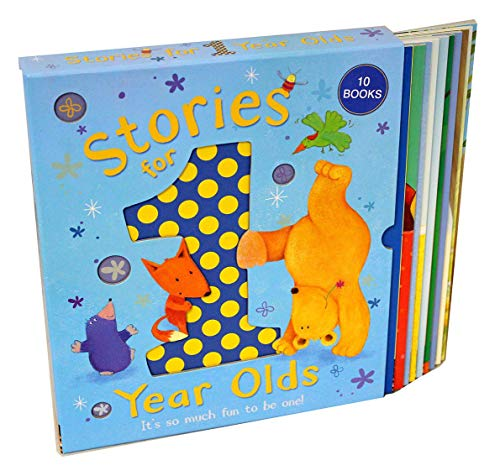 Stories For 1 Year Olds 10 Books Collection Box Gift Set (A Friend Like You, The Busy Busy Day, Its My Turn, Mo Smelly Jumper, I Love You Just The Way You Are, Silly Dizzy Dinosaur, Little Bunnys Bath (Stories For One Year Olds)
