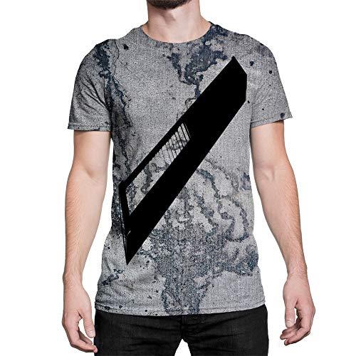 Idakoos Instruments Continuum 3D - Men T-Shirt Polyester L