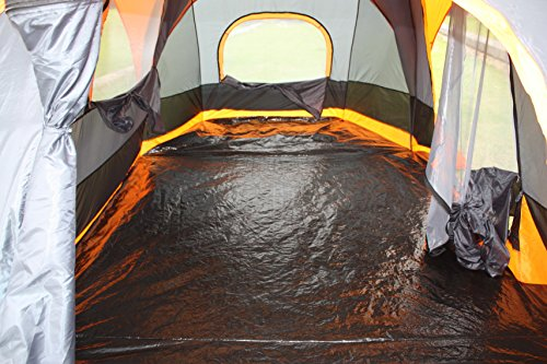 Amazon.com  Elite Double layer Outdoor 8 Person C&ing Cabin Family Tent  Sports u0026 Outdoors & Amazon.com : Elite Double layer Outdoor 8 Person Camping Cabin ...