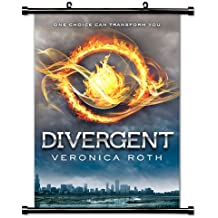 Divergent Movie Poster Fabric Wall Scroll Poster (16x24) Inches