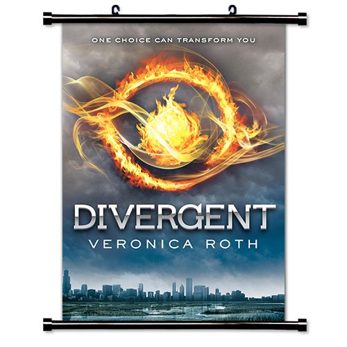 Divergent Veronica Roth Fabric Wall Scroll Poster (16 x 24) Inches