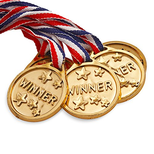 Gold Award Medallion - 12 Pack