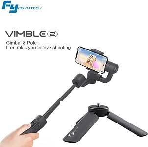 Feiyu Vimble 2 Handheld estabilizador cardan de 3 Ejes para teléfonos Inteligentes con Varilla de estabilización de trípode