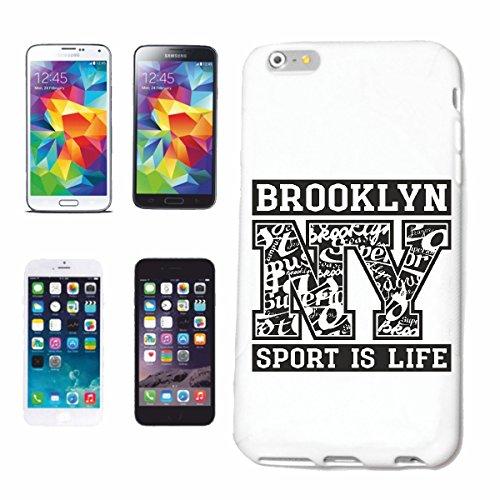 caja del teléfono iPhone 6S Brooklyn NEW YORK DEPORTE ES VIDA NEW YORK América California EE.UU. RUTA 66 CAMISA motorista de la motocicleta de NEW YORK NY LIBERTAD DE LOS ESTADOS UNIDOS DE BRONX BROO