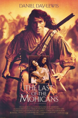 The Last of the Mohicans 11 x 17 Movie Poster - Style C