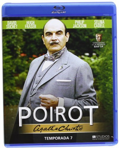 Hercule Poirot - Series 5 / Agatha Christie's Poirot - Season 7 ( Agatha Christie: Poirot ) ( The Murder of Roger Ackroyd / Lord Edgware Dies ) [ Origine Espagnole, Sans Langue Francaise ] (Blu-Ray)