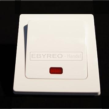 Berühmt ebyreo Licht Schalter, EIN- und Ausschalter mit Lampe: Amazon.de AI56