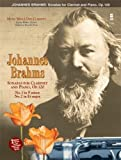 img - for Music Minus One Clarinet: Brahms Sonatas in F minor and E-flat, op. 120 (Book & CD) (2003-01-01) book / textbook / text book