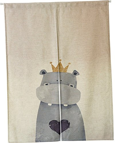 KARUILU home Japanese Noren Doorway Curtain/Tapestry 33.5