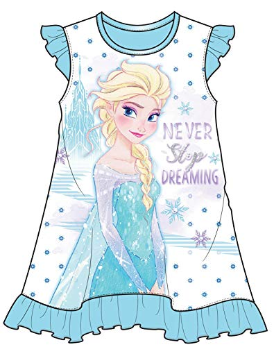 Disney Frozen Never Stop Dreaming Toddler Girls Nightgown, 4T Blue ()