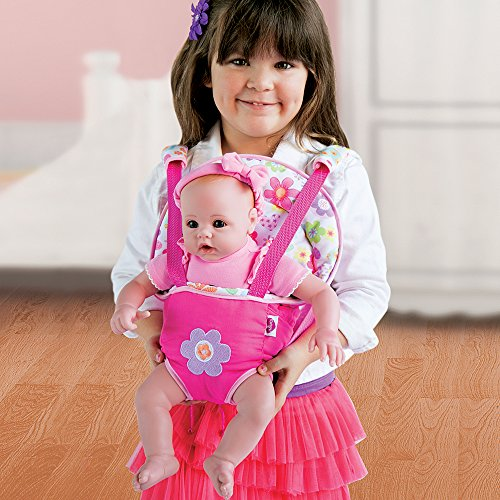 Adora Dual Purpose Baby Carrier Snuggle fits Dolls up to 20""