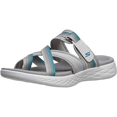 Skechers Women's On-The-go 600-Summit Slide Sandal   Sport Sandals & Slides