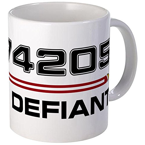 CafePress - USS Defiant DS9 Dark Mug - Unique Coffee for sale  Delivered anywhere in USA