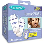 Lansinoh Breastmilk Storage Bags - 100 ct