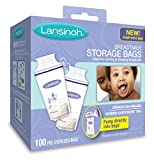 Lansinoh Breastmilk Storage Bags, 100 Count convenient milk...