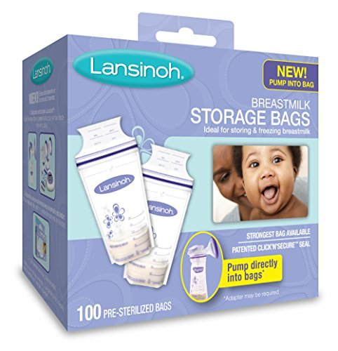 : Lansinoh Breastmilk Storage Bags - 100 ct