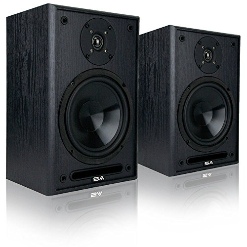 Custom Cabinet Head Amp (Sound Appeal 6.5-Inch Bookshelf Speakers)