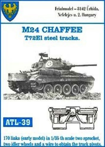 Friulmodel ATL39 1/35 Metal Set w/Drive Sprockets for M-24 Chaffee