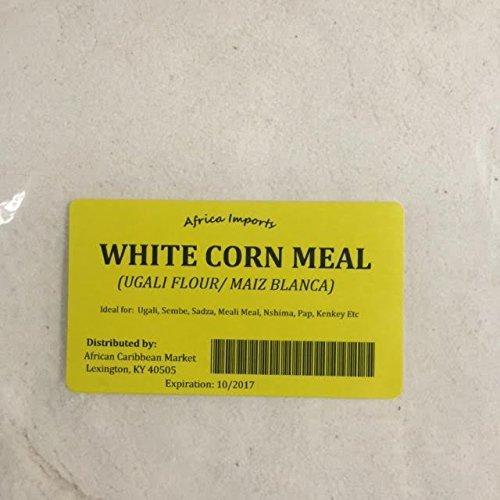 Ugali Flour-white Corn Meal- Simba-4 Pounds- Kenyan