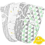 Swaddle-Blanket-Adjustable-Infant-Baby-Wrap-Set-of-4-Baby-Swaddling-Wrap-Blankets-Made-in-Soft-Cotton-by-BaeBae-Goods
