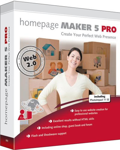 Homepage Maker 5 Pro from Global Marketing Partners