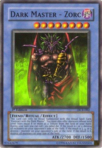 Yu-Gi-Oh! - Dark Master - Zorc (DCR-082) - Dark Crisis - Unlimited Edition - Super Rare