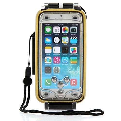 HolaFoto MEIKON Hight Quality 40m 130ft Rated Dive Professional Submersible Underwater Photo Video Camera Waterproof Photo Housing Diving Swimming Skin Protective Case Cover for Apple iPhone 6 4.7'' by HolaFoto (Image #5)