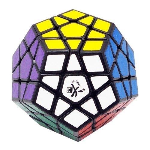 Dayan Megaminx Black without Ridges Speed Cube Puzzle