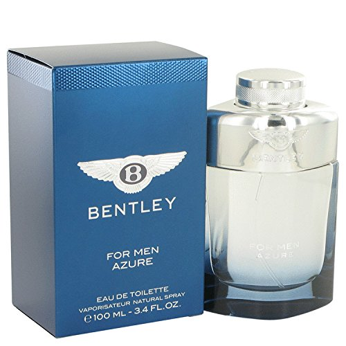 NEW BENTLEY Azure Cologne 3.4 oz Eau De Toilette Spray FOR MEN
