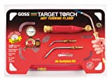 Goss KX-3B Soldering Brazing Torch Kit for ''B'' Acetylene Tanks with GA-3 and GA-11 Target Tips and Hot Turbine Flame