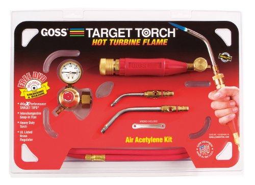 (Goss KX-3B Soldering Brazing Torch Kit for