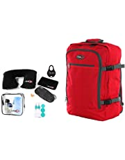 CABIN GO Zaino cod. MAX 5540 bagaglio a mano/cabina da viaggio, 55 x 40 x 20 cm, 44 litri approvato volo IATA/EasyJet/Ryanair