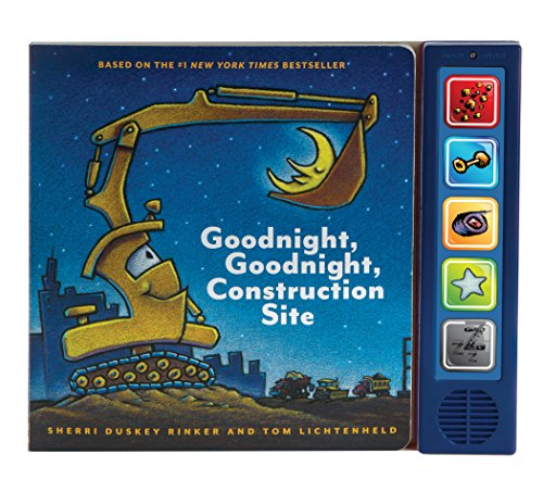 Goodnight  Goodnight Construction Site Sound Book: (Construction Books for Kids, Books with Sound for Toddlers, Children's Truck Books, Read Aloud Books) (Best Baby Name Site)