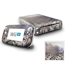 Nintendo Wii U Console and GamePad Decal skin Sticker - Boulevard des Capucines by DecalSkin