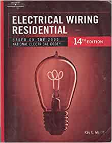 electrical wiring residential ray mullin 9780766852501. Black Bedroom Furniture Sets. Home Design Ideas