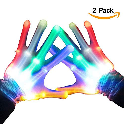 Winter Gloves With Led Light in US - 8