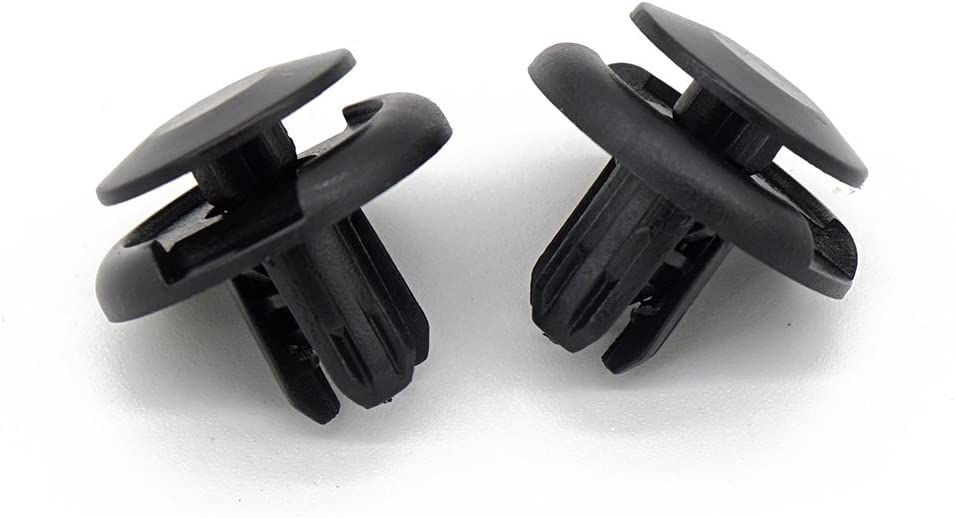 Replacement for the Part# 91512-SX0-003 Waylin C83 20 Pcs Super Front Fender Inner Liners Fender Well Front Wheel Well Retainer Clips Plastic Body Rivets for Honda Accord Civic Acura