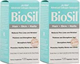 Biosil Skin & Hair & Nails Biosil 120 VCaps (Skin & Hair & Nails 2 x 120)